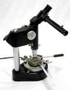 Leitz 1950's Polarized Light Microscope